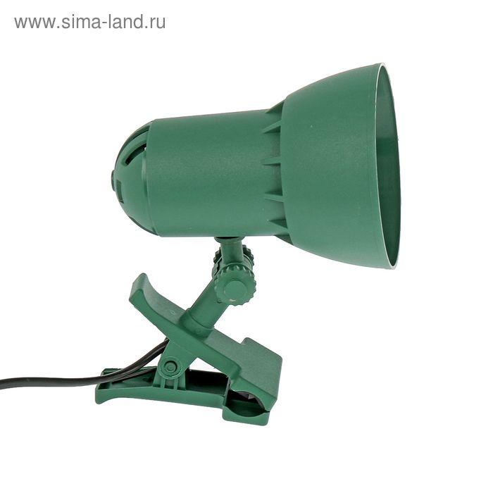 """Светильник на прищепке """"Надежда 1-мини"""", зелёный"""