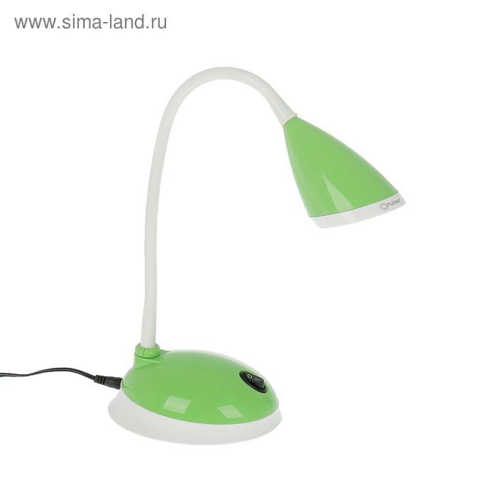 """Светильник настольный """"Киара"""", зелёный, LED"""
