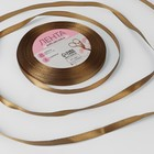 Satin ribbon, 6mm, 23±1m, No. 29, color brown