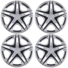 """Колпаки колесные R13 """"Дакар"""" Super Silver, набор 4 шт."""