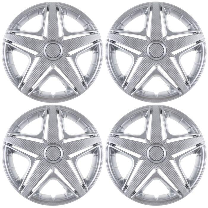 Колпаки колесные R14 NHL, набор 4 шт.