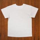 Футболка детская, рост 92 см, цвет белый Н003