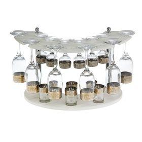 Мини-бар 18 предметов шампанское, кристалл, белый 200/55/50 мл