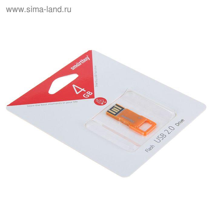 USB-флешка Smartbuy 4Gb BIZ, оранжевая