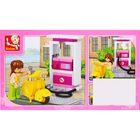 Конструктор «Розовая мечта: мини-автозаправочная стация», 37 деталей - фото 105509573