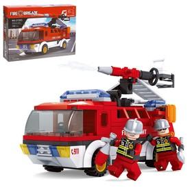 Конструктор Пожарная бригада «Огнеборцы», 192 детали