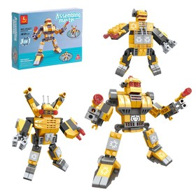 Конструктор «Хранитель космоса: робот-трансформер», 3 варианта сборки, 163 детали