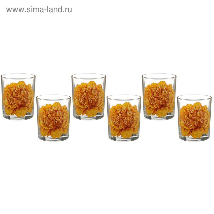 """Набор стаканов 250 мл """"Пион"""", 6 шт"""