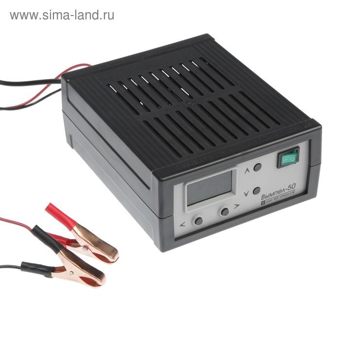 """Зарядно-предпусковое устройство """"Вымпел-50"""", 15 А, 7.5/18 В, светодиодный дисплей"""