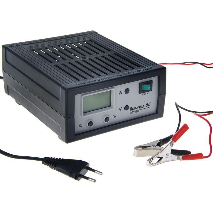 """Зарядно-предпусковое устройство """"Вымпел-55"""", 15 А, 0,5/18 В, жидкокристаллический дисплей"""