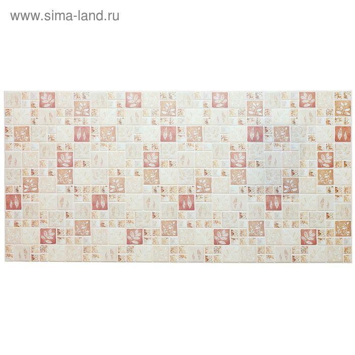Панель ПВХ Мозаика Осенний лист 955*480
