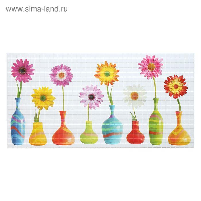 Панель ПВХ Мозаика Цветы 955*480