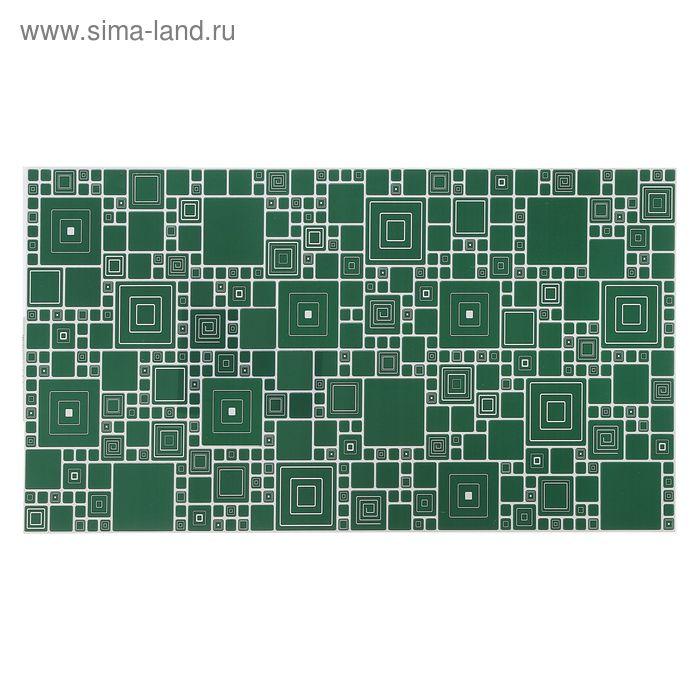 Панель ПВХ мозаика «Палитра изумруд»