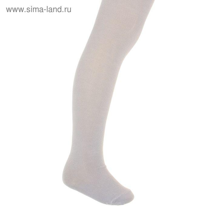 Колготки детские, размер 16, рост 110-116 см, 5-6 лет, цвет серый