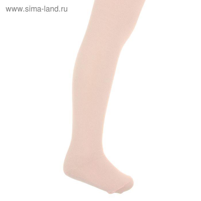 Колготки детские, размер 14, рост 98-104 см, 3-4 года, цвет персиковый