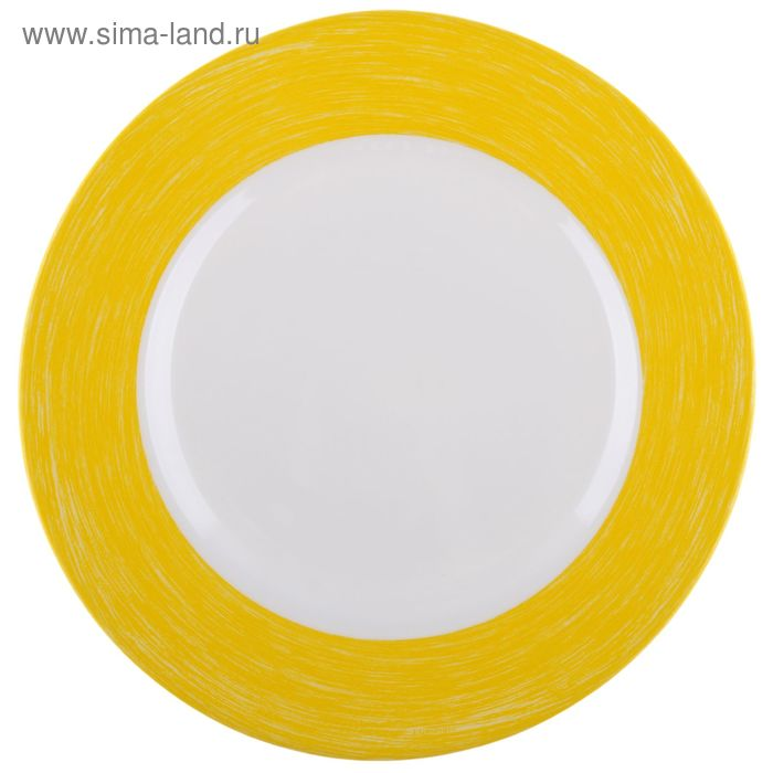 Тарелка десертная 19 см Color Days, цвет желтый