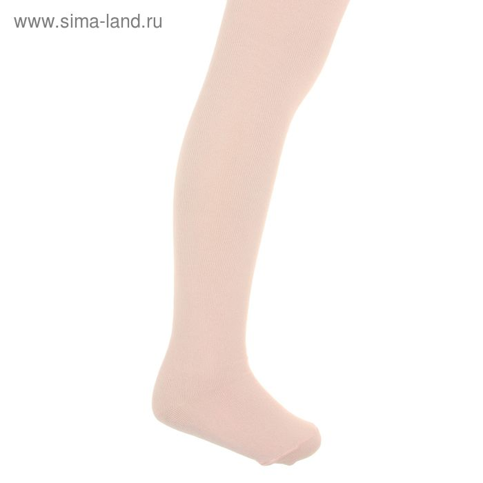 Колготки детские, размер 15, рост 104-110 см, 4-5 лет, цвет персиковый