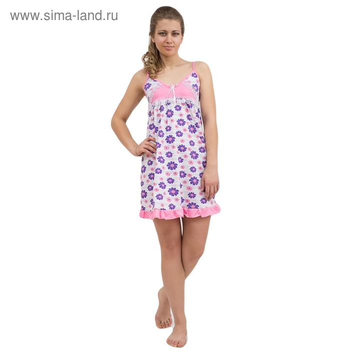 Сорочка женская 63 МИКС, р-р 42