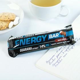 """Батончик """"Energy Bar"""" c гуараной, Кокос / тёмная глазурь 50 г"""