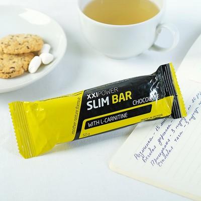 """Батончик """"Slim Bar"""" с L-карнитином, 50 г Шоколад / шоколадная глазурь"""