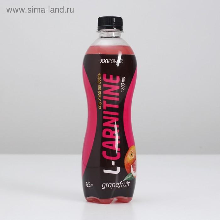 """Напиток XXI век """"L-Карнитин"""" грейпфрут 0,5л"""
