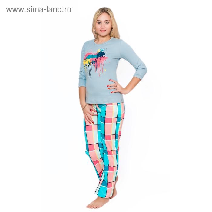 Комплект женский (фуфайка, брюки) ТК-948 МИКС, р-р 50