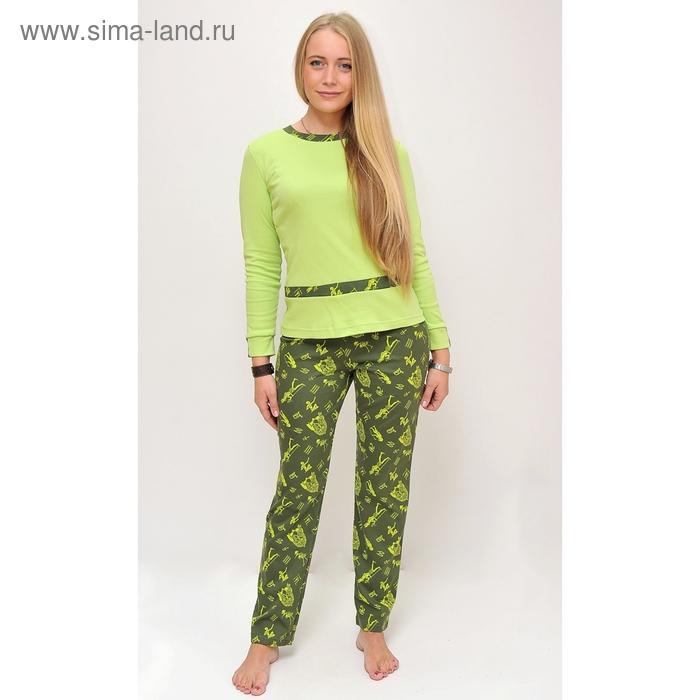 Комплект женский (фуфайка, брюки) ТК-584Е МИКС, р-р 44