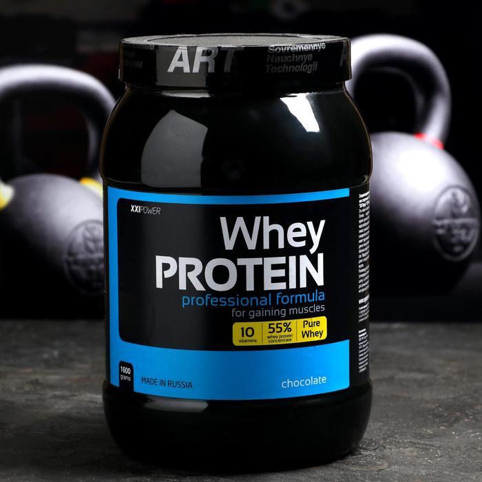 Сывороточный протеин, шоколад, 1600 г - фото 1632160