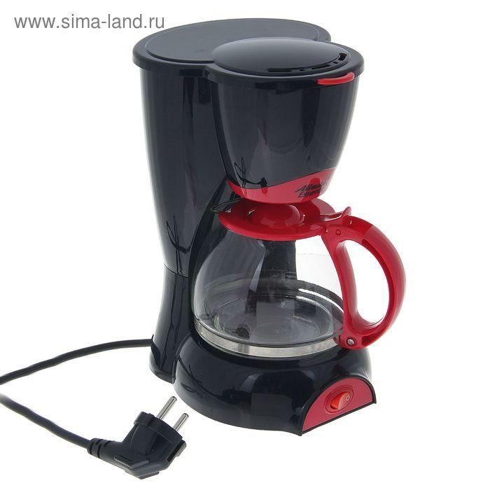 Кофеварка Atlanta ATH-541, 550 Вт, 0.6 л, возможность приготовления двух чашек, черная