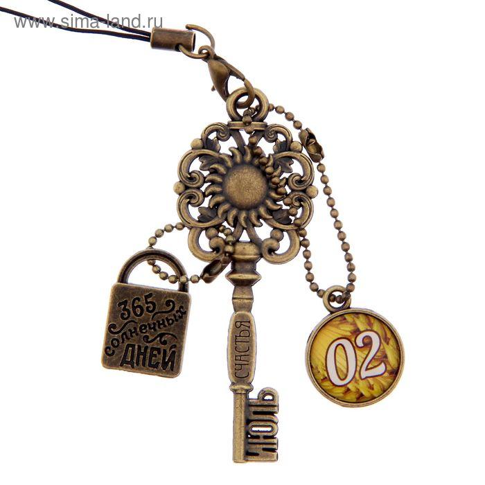 """Ключ сувенирный """"2 Июля"""", серия 365 дней"""