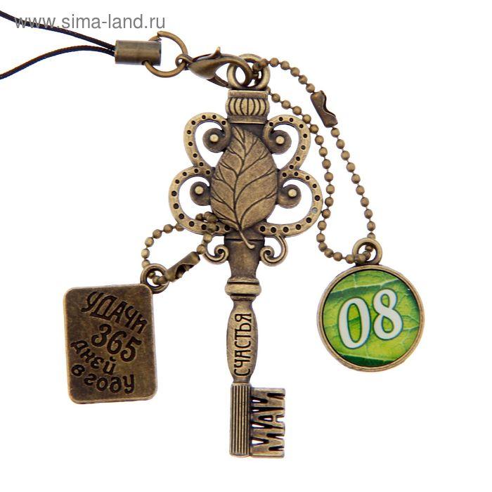 """Ключ сувенирный """"8 Мая"""", серия 365 дней"""