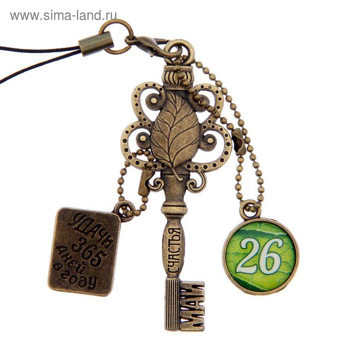 """Ключ сувенирный """"26 Мая"""", серия 365 дней"""