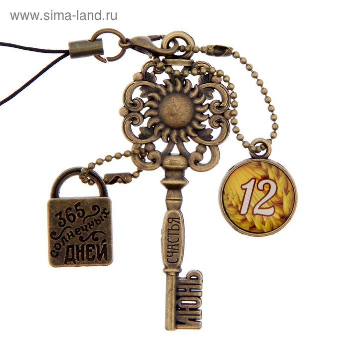 """Ключ сувенирный """"12 Июня"""", серия 365 дней"""