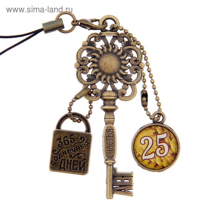 """Ключ сувенирный """"25 Августа"""", серия 365 дней"""