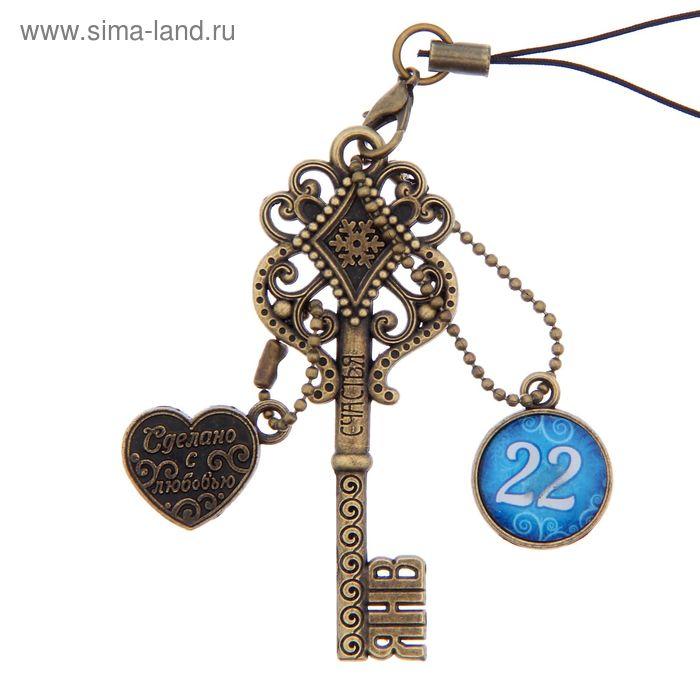 """Ключ сувенирный """"22 Января"""", серия 365 дней"""