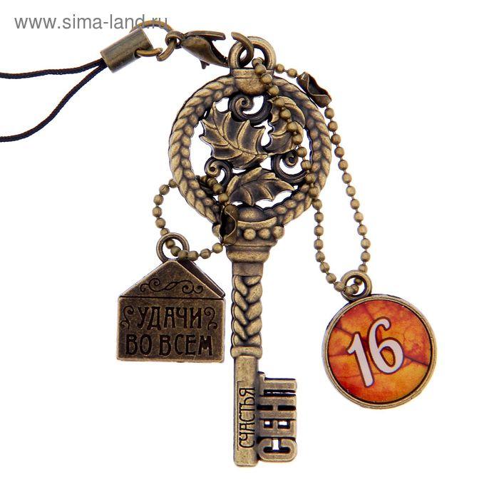 """Ключ сувенирный """"16 Сентября"""", серия 365 дней"""