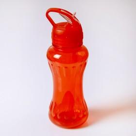 Бутылка для воды 450 мл, велосипедная, фигурная, микс, 8х23 см Ош