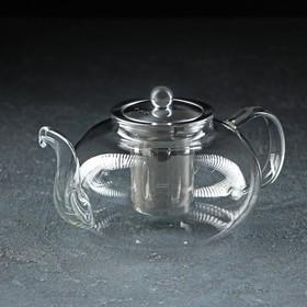 Чайник заварочный «Калиопа», с металлическим ситом , 1 л