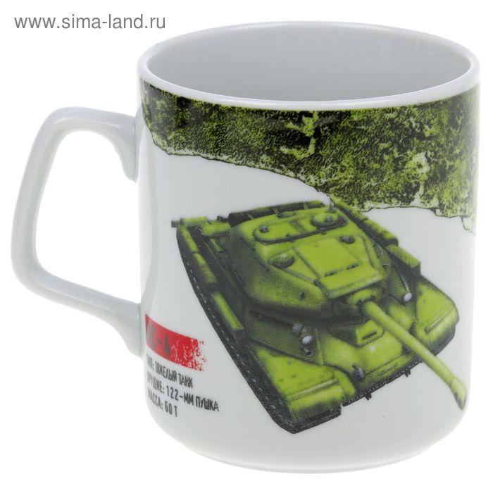"Кружка 350 мл ""Мир танков"", рисунок МИКС"