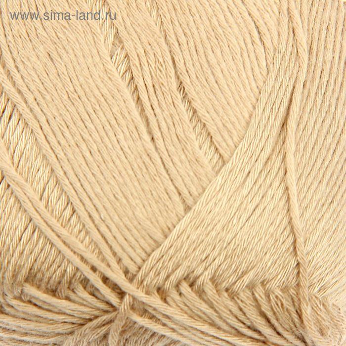 "Пряжа ""Bamboo Fine"" 100% бамбук, 440м/100гр (76 бежевый)"