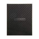 Бизнес-блокнот в твердой обложке А5 80л CarbonStyle, 5-цветный блок