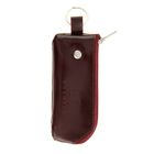 Футляр для ключей K-116-82, кольцо, цвет бордовый