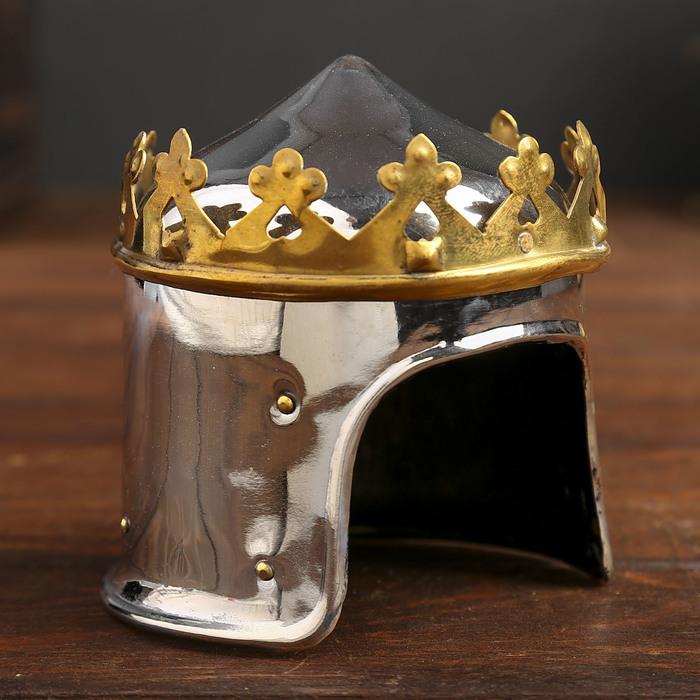 """Сувенирный шлем """"Королевский"""" мини"""