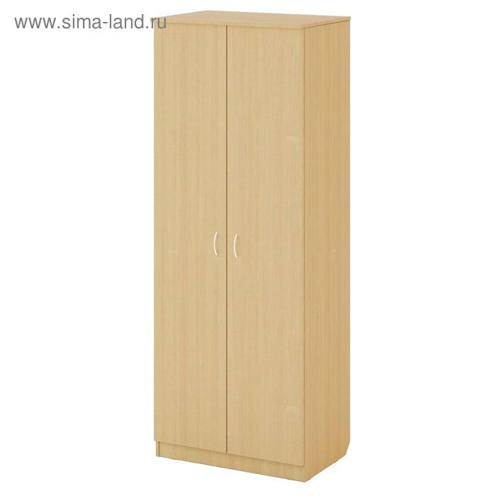 Шкаф распашной 2х створчатый №2 800х500х2100, белёный дуб