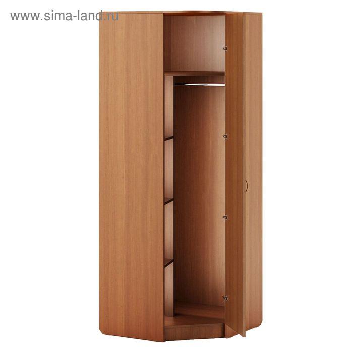 Шкаф угловой 800х800х2100 мм, бук тёмный