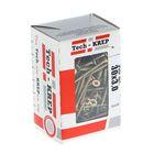 Саморезы универсальные TECH-KREP, 3х30 мм, жёлтый цинк, потай, 200 шт.
