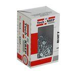 Саморезы универсальные TECH-KREP, 2.5х10 мм, цинк, потай, 500 шт.
