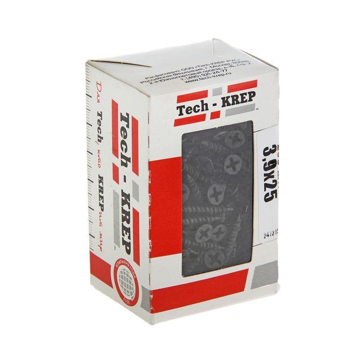Саморезы по ГВЛ TECH-KREP, ШС, 3.9х25 мм, 200 шт.