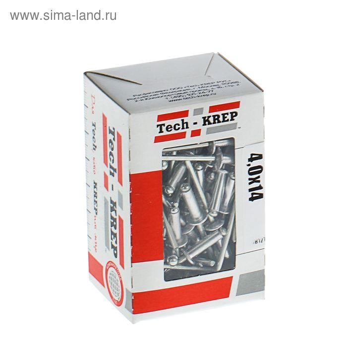 Заклепка, 4х14 мм, в коробке 100 шт.