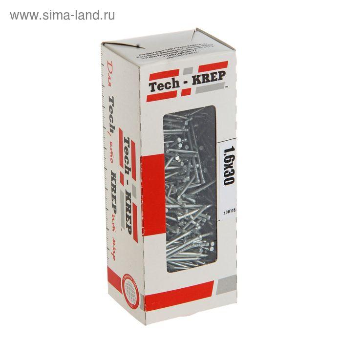 Гвоздь финишный, 1.6х30 мм, оцинкованный, в упаковке 300 г